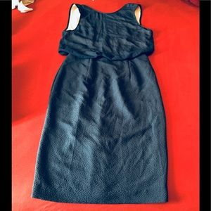 H&M Long Blue Dress Sz 8